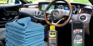 Auto Innenraum Putzset und Reiniger