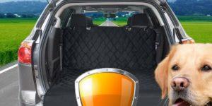 Auto Innenraum vor Haustieren schützen - Autoschondecke Hund & Kofferraumschutz
