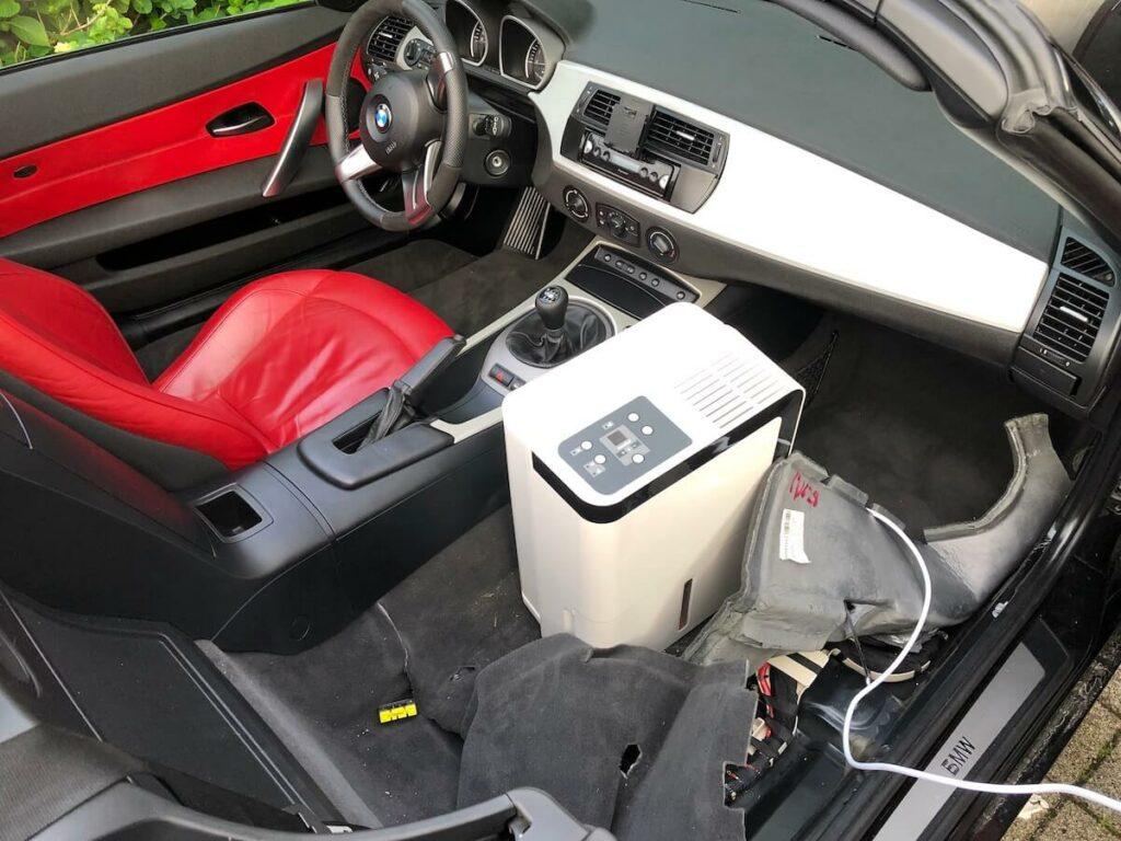 Wasser aus Auto bekommen
